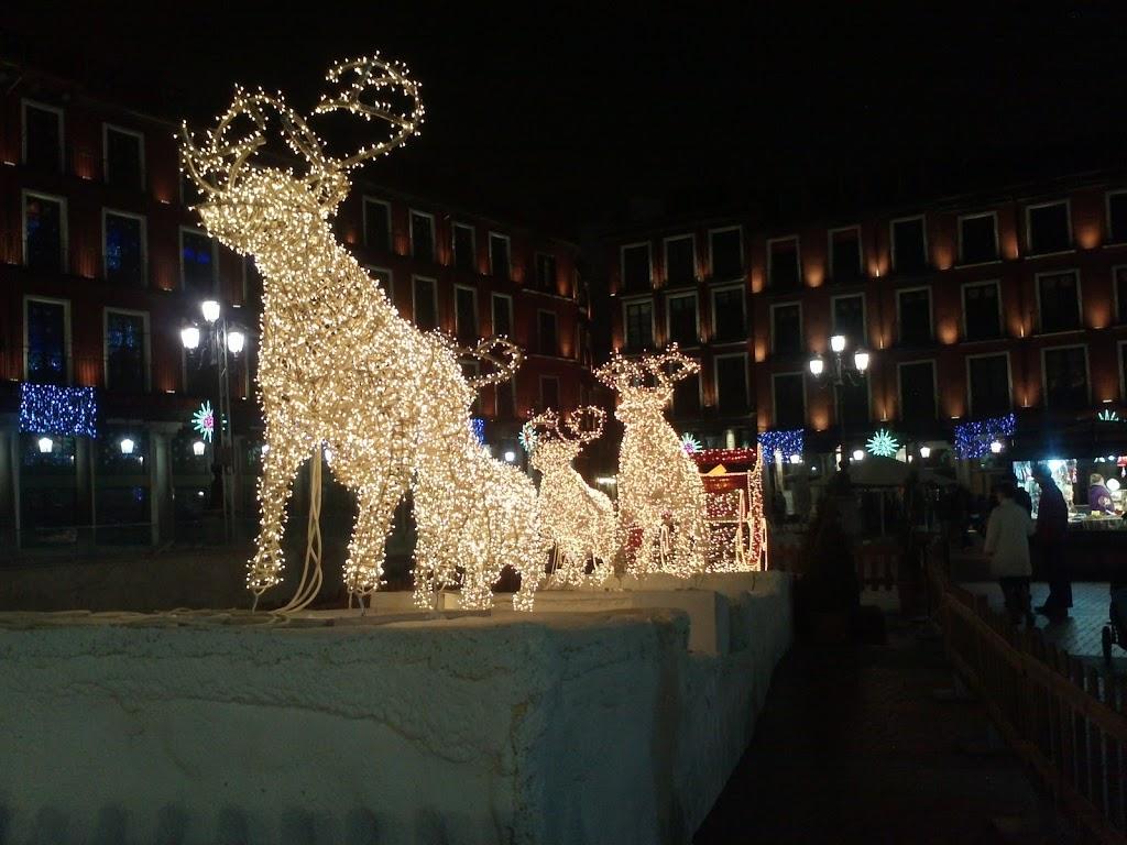 Plaza mayor de valladolid en navidad 2011 2012 noticias - Decoracion en valladolid ...